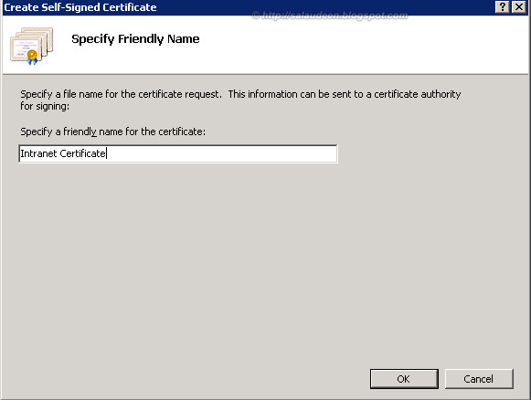 IntranetCertificate