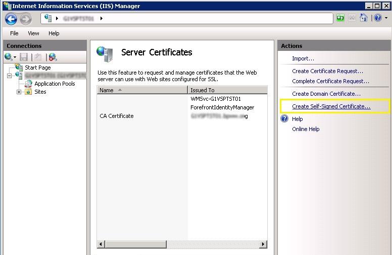 Configure Ssl Certificate For Sharepoint External Https Access