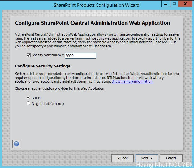 setup sharepoint 2016 - step 12