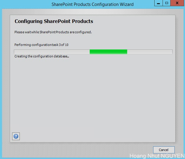 setup sharepoint 2016 - step 14