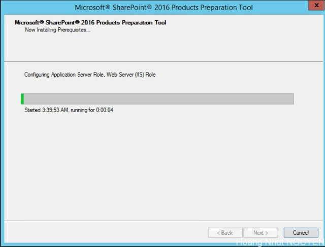 setup sharepoint 2016 - step 2