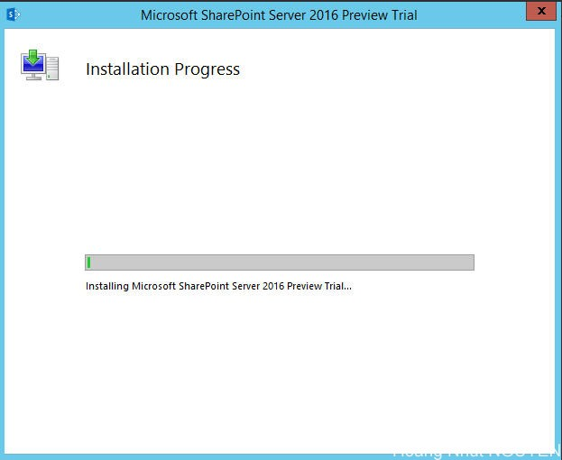 setup sharepoint 2016 - step 5
